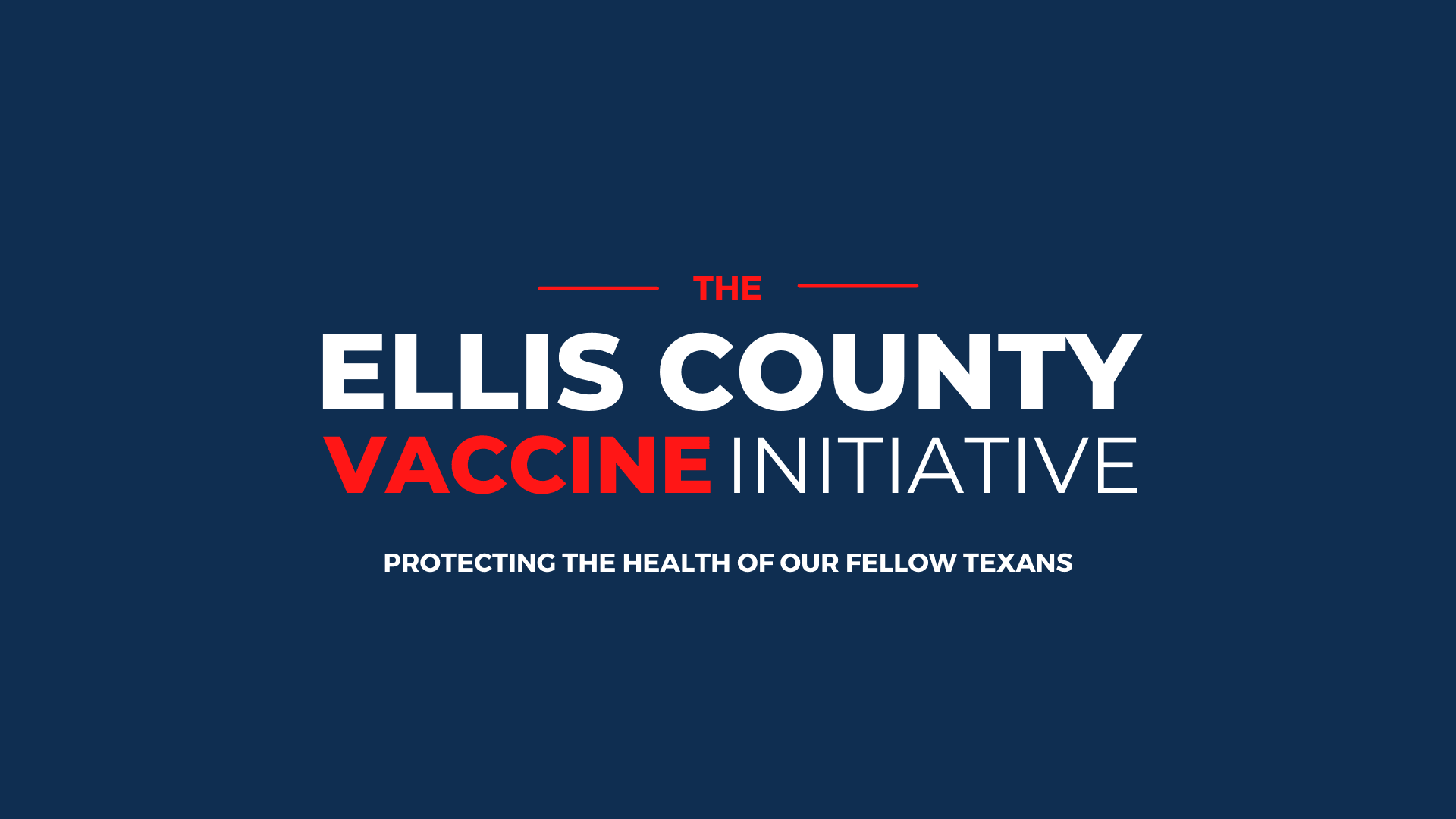 The Ellis County vaccine Initiative (Main Photo)